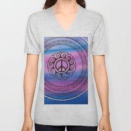 Peace II  Unisex V-Neck