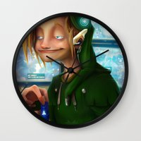 hyrule Wall Clocks featuring HYRULE CORP. by zero-scarecrow13