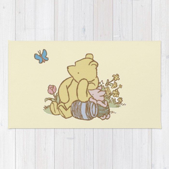 Classic Pooh Rug by kltj11   Society6