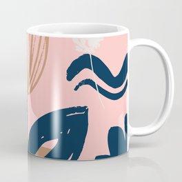 Abstract Leaves and Flowers IV Coffee Mug