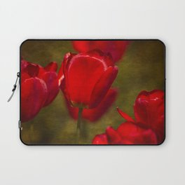 Springing Up Tulips Laptop Sleeve