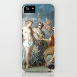 Étienne Jeaurat The Judgment of Paris iPhone Case