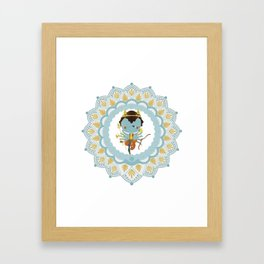 Agni Framed Art Print