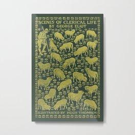 George Eliot - Scenes of Clerical Life Metal Print