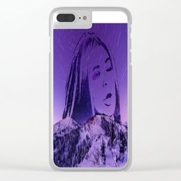 Kylie Jenner Funny Eye Roll Pic Clear iPhone Case
