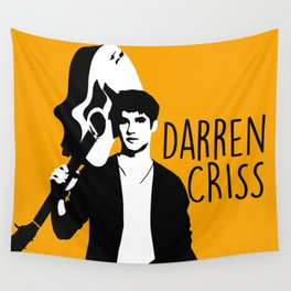 Darren Criss with guitar! Wall Tapestry