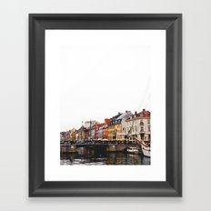 Jul Framed Art Print
