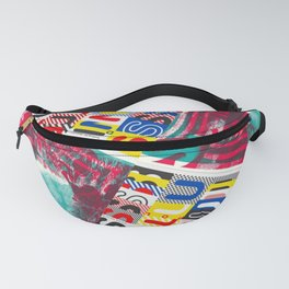 These Suuns Be Armed For Peace Fanny Pack