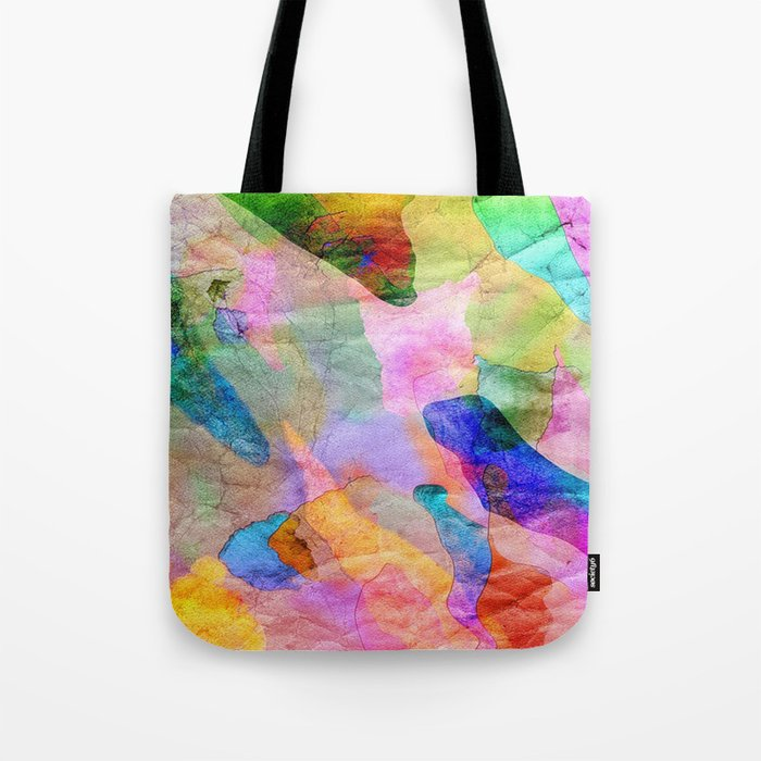 Abstract Texture 03 Tote Bag