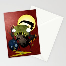 Who Cracked That Egg? Stationery Cards
