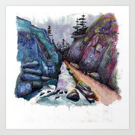 Eleven Mile Canyon, Colorado Art Print