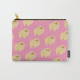 Pom Puff Carry-All Pouch