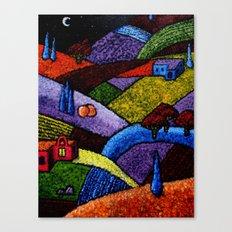 New Mexico Landscape painting Canvas Print