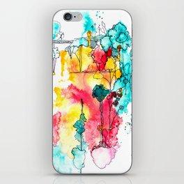 wondrous things iPhone Skin