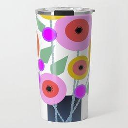 Floral Potpourri Travel Mug
