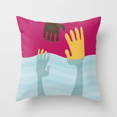 Help me Throw Pillow