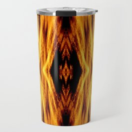 Flame Pattern Fire Astract Travel Mug