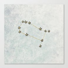 Gemini x Astrology x Zodiac Canvas Print