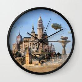 Desert City Wall Clock