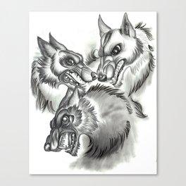Three Vices Canvas Print