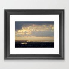 Sunrise Over South Long Beach Framed Art Print