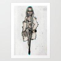 Art Hooker Art Print