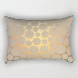 Pastel Polka Dots Rectangular Pillow