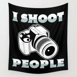 I Shoot People | Photography Photographer Wall Tapestry