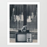 revolution Art Prints featuring revolution by Tonya Enger