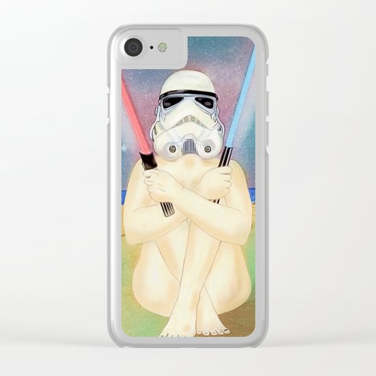 Two of swords Clear iPhone Case
