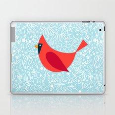 Cardinal Flowers, Carolina Blue Laptop & iPad Skin