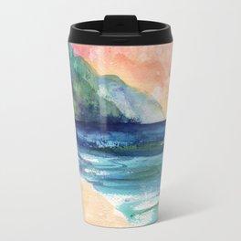 Ke'e Beach Travel Mug