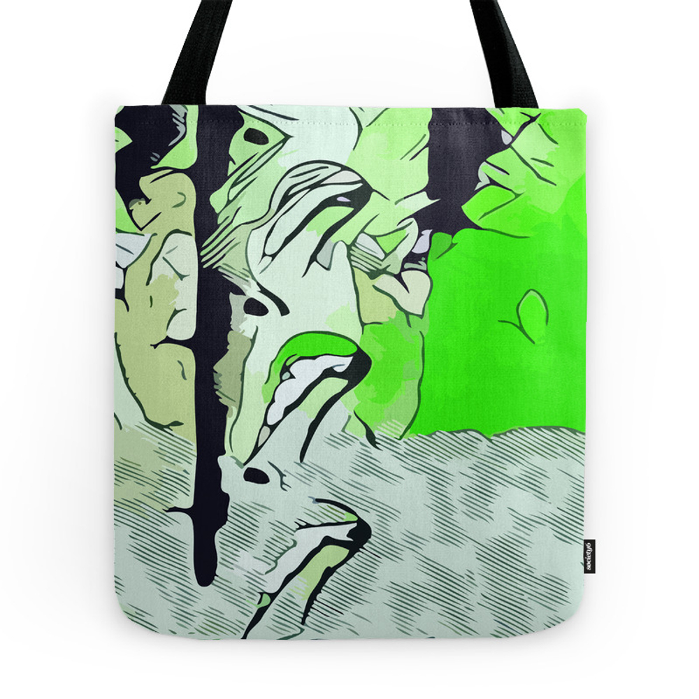 Poisonous Woman Tote Purse by bespired (TBG7525063) photo