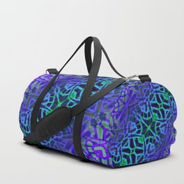 Fractal Art Stained Glass G318 Duffle Bag