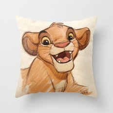 Simba Throw Pillow