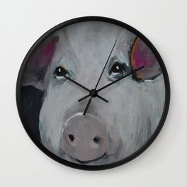 The Three Little Piggies Wall Clock