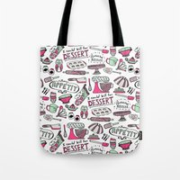 kitchen Tote Bags featuring Kitchen by Beatriz Sanches