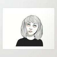 hey there.  Art Print