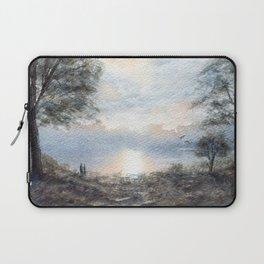 Lakeside Stroll Laptop Sleeve