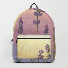 Lavender in Sunset Backpack
