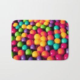 Rainbow Candy: Gumballs Bath Mat