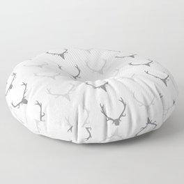 Deer Antler Pattern Floor Pillow