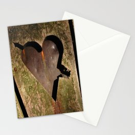 I Carved a Heart for You ~ Romance Series Stationery Cards