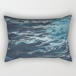 The Nothing of Knowledge Rectangular Pillow