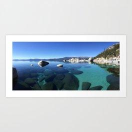Crystal Tahoe Art Print