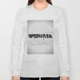 Supernatural monochrome Long Sleeve T-shirt