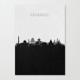 City Skylines: Kathmandu Canvas Print