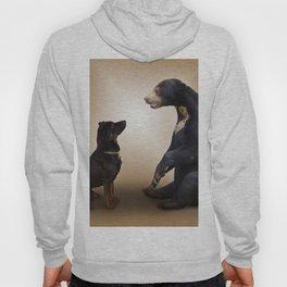 Dog And Bear Hoody