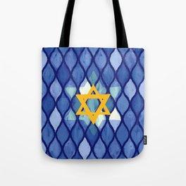 Jewish Celebration Tote Bag