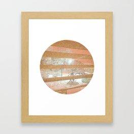 """""""White Out"""" Framed Art Print"""